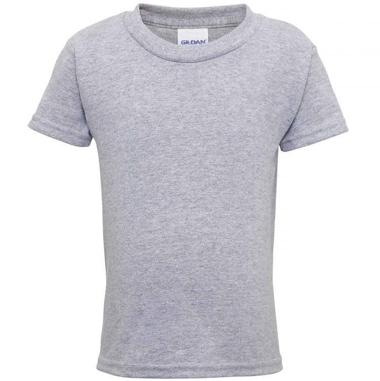 Heavy cotton toddler t-shirt Sport Grey