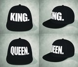 Set van 2 petten King & Queen_