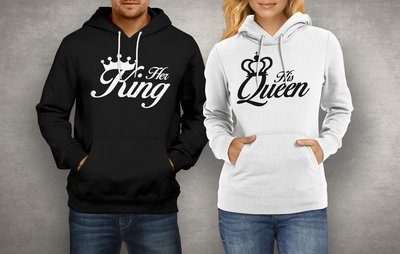 Koppel King & Queen Kroon hoodies