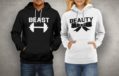 Koppel Beauty & Beast hoodies