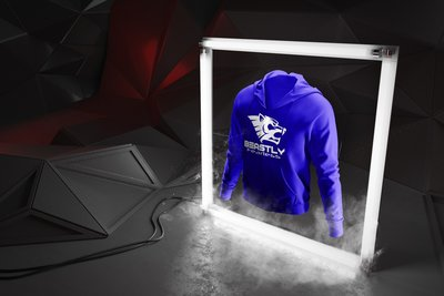 Beastly Fearless Hoodie Royal Blue