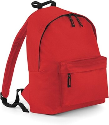 Junior Fashion Backpack - Bright Red - 14 l