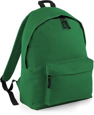 Junior Fashion Backpack - Bottle Green - 14 l